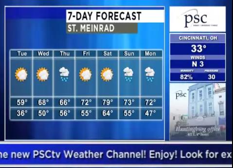 PSCtv Weather Channel